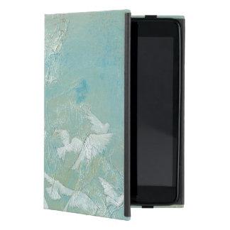 White Birds Flying Through Blue Sky Case For iPad Mini