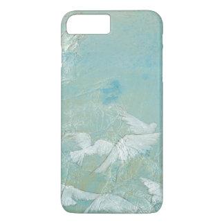 White Birds Flying Through Blue Sky iPhone 8 Plus/7 Plus Case