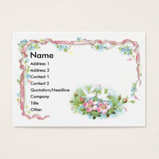 White Birds, Pink Ribbon & Wild Roses
