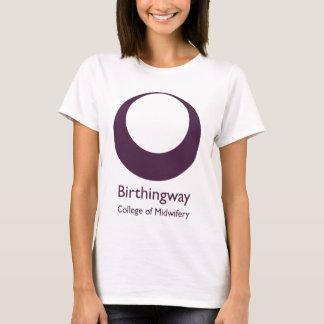 White Birthingway Logo T-Shirt