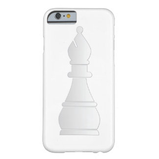 White bishop chess piece barely there iPhone 6 case