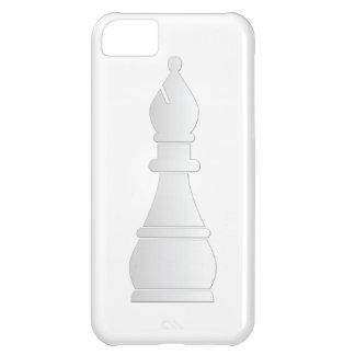 White bishop chess piece iPhone 5C case