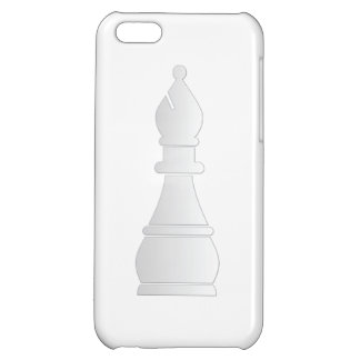 White bishop chess piece iPhone 5C cases