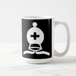 White Bishop Basic White Mug