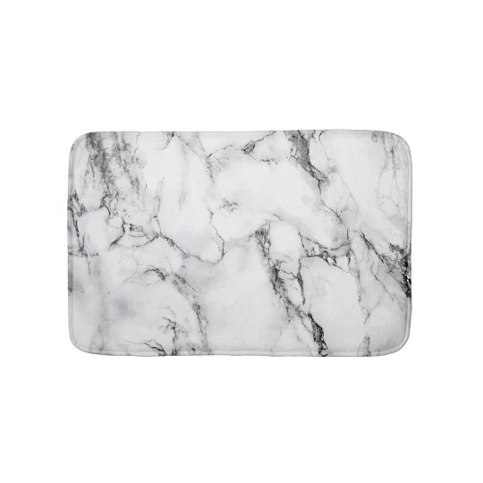 White Black And Gray Grain Marble Stone Bath