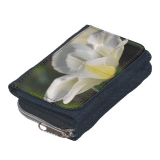 White Blooming Tulip Wallets