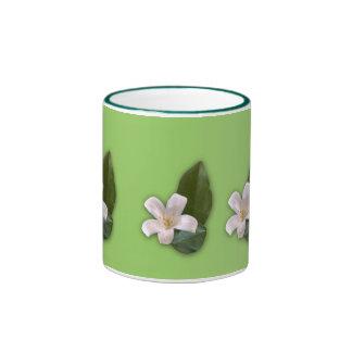 White Blossom Coffee Mugs