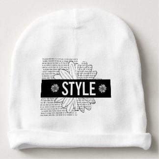 "White bonnet of birth ""Style "" Baby Beanie"