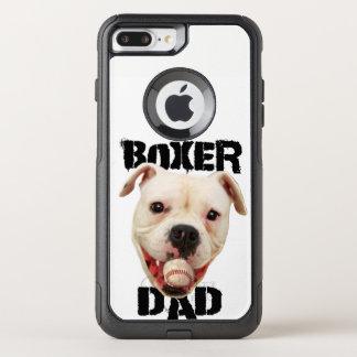 White Boxer Baseball dad iphone 7 plus phone case