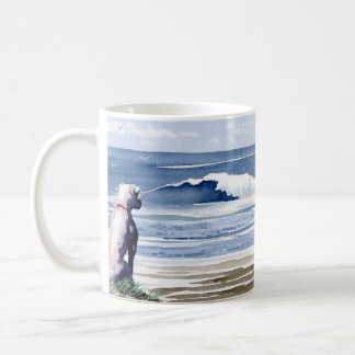 White Boxer Coffee Mug