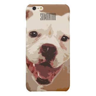 White Boxer Dog Iphone 6/6s case iPhone 6 Plus Case