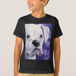 White Boxer T-Shirt