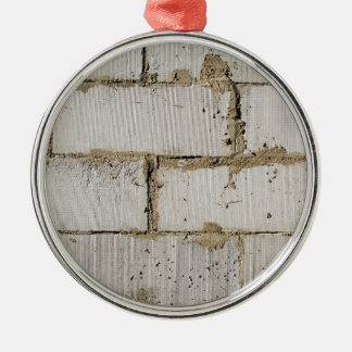 White Brick Christmas Ornament