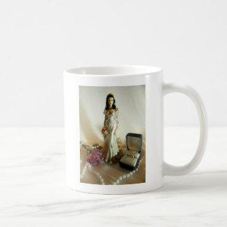 White Bridal I Coffee Mug