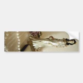 White Bridal III Bumper Sticker