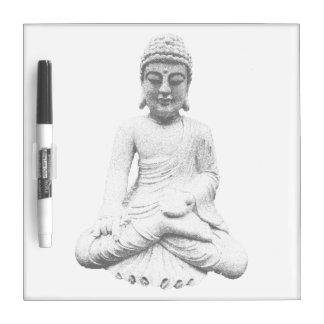 White Buddha Dry-Erase Whiteboards