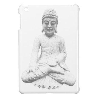 White Buddha iPad Mini Covers