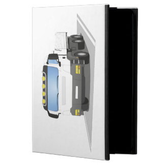 white building sites truck powis iPad air 2 case