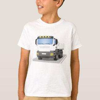 white building sites truck T-Shirt