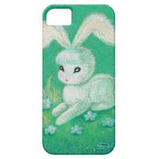White Bunny Rabbit With Floppy Ears iPhone 5 Cases