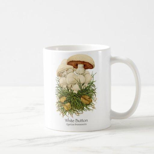 White Button Mushroom Coffee Mug