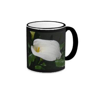 White Calla Lily Mugs