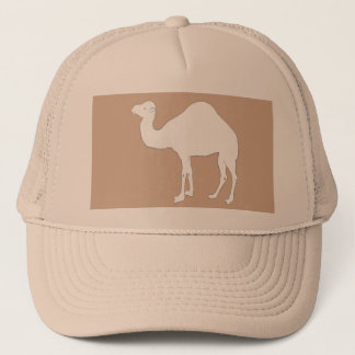 White Camel Trucker Hat
