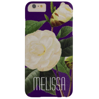 White Camellia, 1833 Barely There iPhone 6 Plus Case