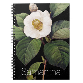 White Camellia Notebooks