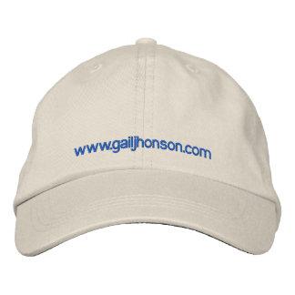 White cap embroidered cap