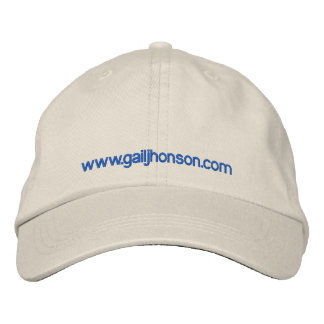White cap embroidered cap