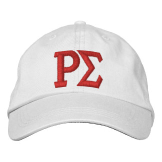 WHITE CAP WITH EMBROIDERED LETTERS EMBROIDERED CAP
