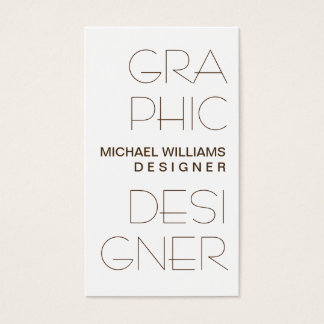 WHITE CARD SIMPLE ELEGANT GRAPHICAL DESIGN