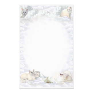 White Cat Stationery