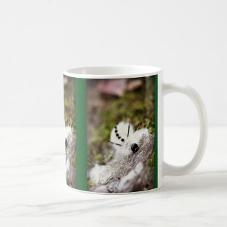 White Caterpillar Coffee Mug