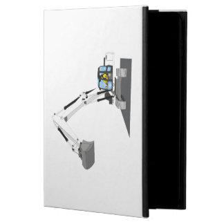 white chain excavator powis iPad air 2 case