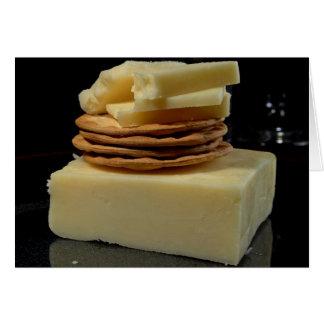 White Cheddar Cheese Card