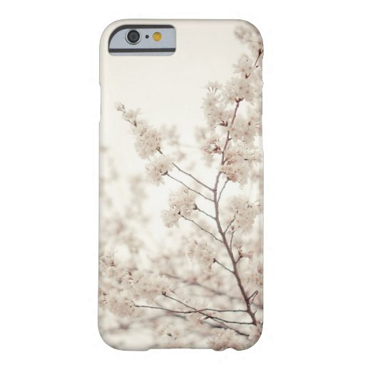 White Cherry Blossoms - Central Park Spring iPhone 6 Case