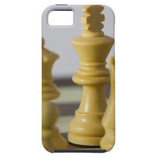 White chess pieces iPhone 5 case