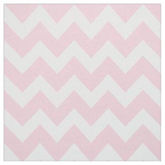 White Chevron Stripes | Pink Pattern Fabric