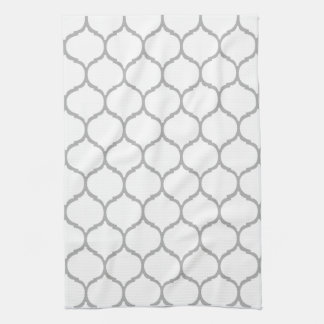 White Chic Moroccan Kitchen Towels