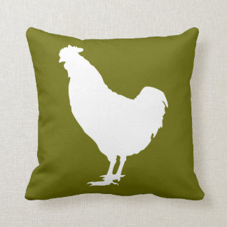 White chicken cushion