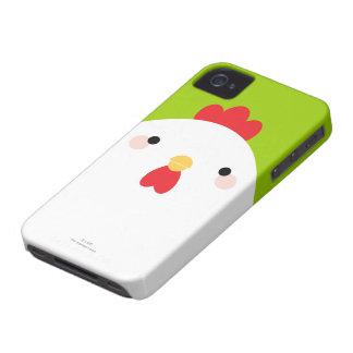 White Chicken iPhone 4 Case
