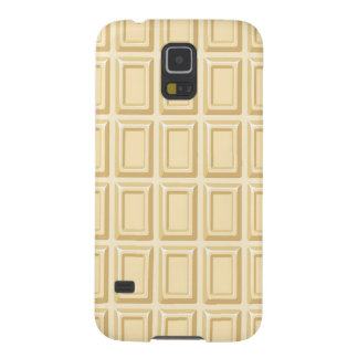 White Chocolate Bar Texture Case For Galaxy S5