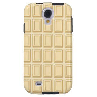 White Chocolate Bar Texture Galaxy S4 Case