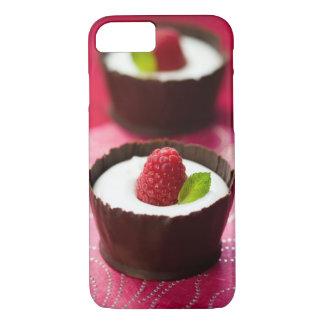 White chocolate mousse dessert iPhone 8/7 case