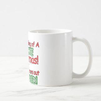White Christmas Basic White Mug
