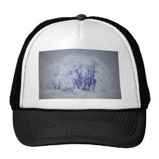 White Christmas Cap