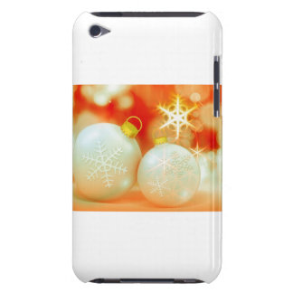 White Christmas Ornaments iPod Touch Cases