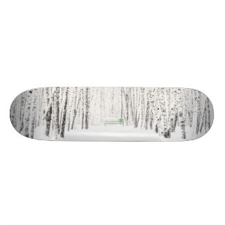 White Christmas Tale Skate Deck
